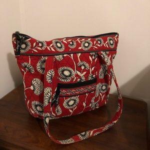 Bold Floral Vera Bradley Shoulder Bag